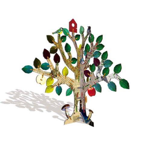 $部屋をおしゃれに!マンションで海外インテリア-totem tree