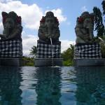 静謐で濃密 – バリ島の絵