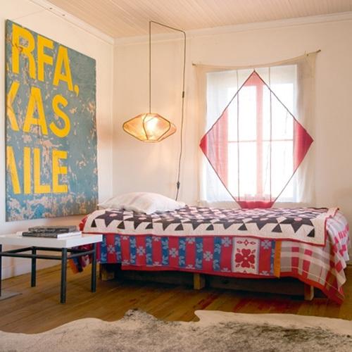 部屋をおしゃれに!マンションで海外インテリア-bedroom4