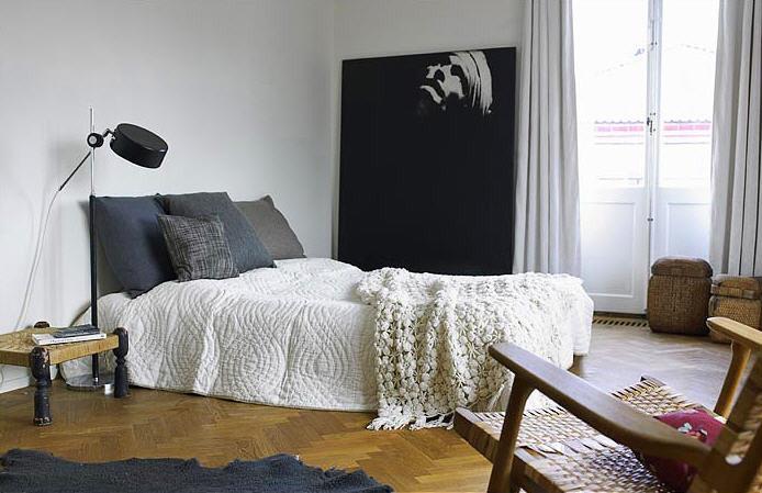 部屋をおしゃれに!マンションで海外インテリア-bedroom5
