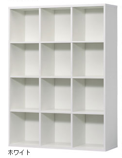 部屋をおしゃれに!マンションで海外インテリア-white book shelf