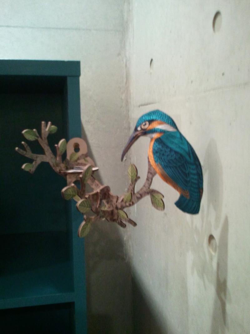 部屋をおしゃれに!マンションで海外インテリア-bird2