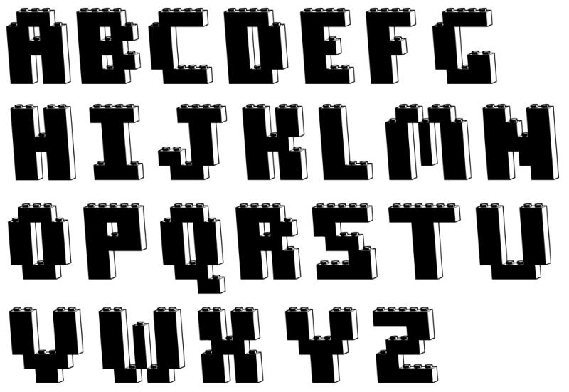 部屋をおしゃれに!マンションで海外インテリア-black lego font