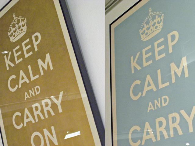 部屋をおしゃれに!マンションで海外インテリア-keep calm9