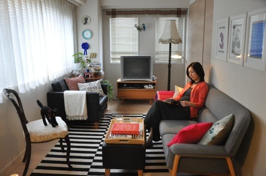 部屋をおしゃれに!マンションで海外インテリア-living