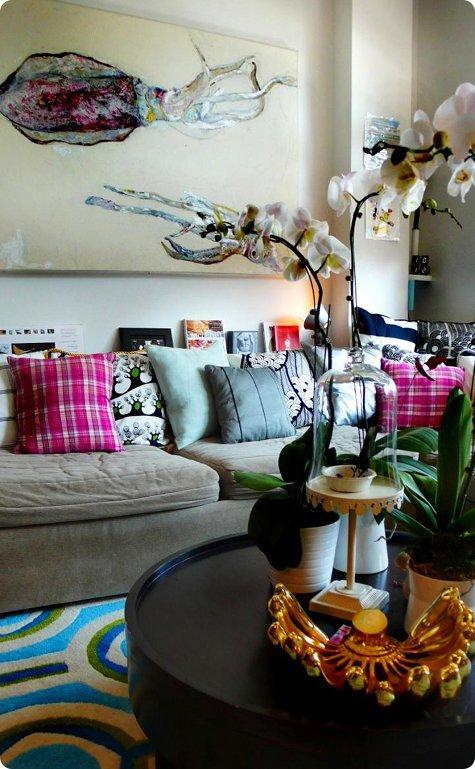 部屋をおしゃれに!マンションで海外インテリア-orchid6