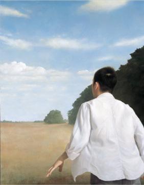 部屋をおしゃれに!マンションで海外インテリア-卯野和宏《雲を追う》2011年
