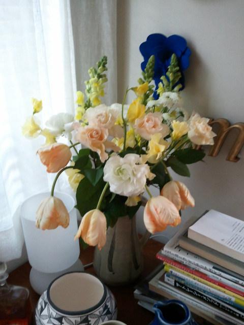 部屋をおしゃれに!マンションで海外インテリア-flower 1