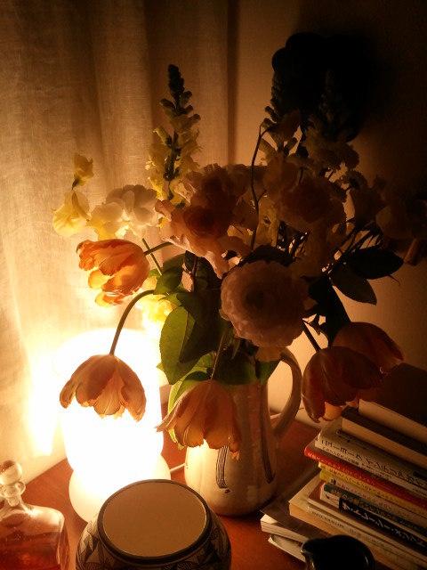 部屋をおしゃれに!マンションで海外インテリア-flower 3