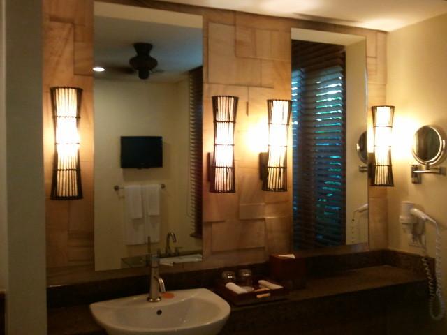 部屋をおしゃれに!マンションで海外インテリア-bathroom