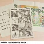 大人にささるムーミンカレンダー