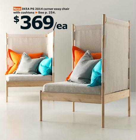 corner easy chair